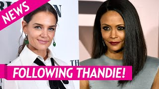 Katie Holmes Follows Thandie Newton After Tom Cruise Comments