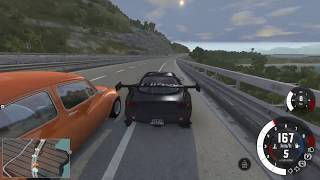BeamNG.drive - Wangan Style
