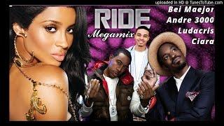 Ciara – Ride MEGAMIX (feat. Andre 3000 Ludacris & Bei Maejor) (Explicit)