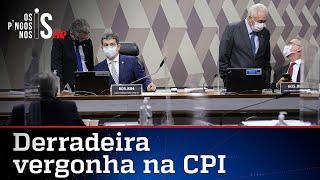 CPI termina com votação de relatório fantasioso para atingir Bolsonaro