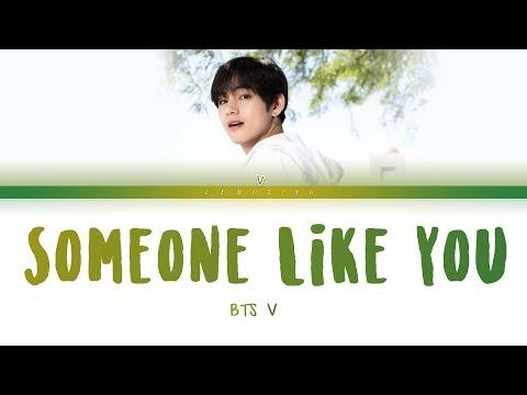 BTS V - Someone Like You (Cover) (방탄소년단 뷔 - Someone