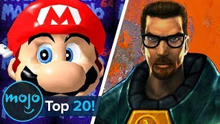 Top 20 Most Influential Video Games of All Time
