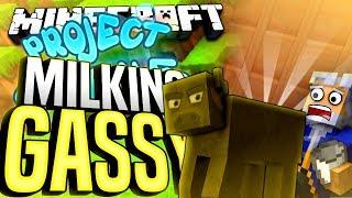Minecraft - MILKING GASSY - Project Ozone #181