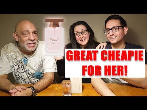 Zara Rose Gold Fragrance / Perfume Review
