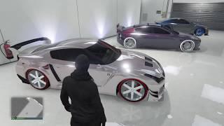 CUSTOMISATION DE L'ÉLÉGY RH8 POUR MET ABONNÉS GTA5 ONLINE EN 1 42 PS4