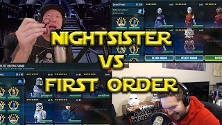 Star Wars: Galaxy Of Heroes - Nightsister VS First Order