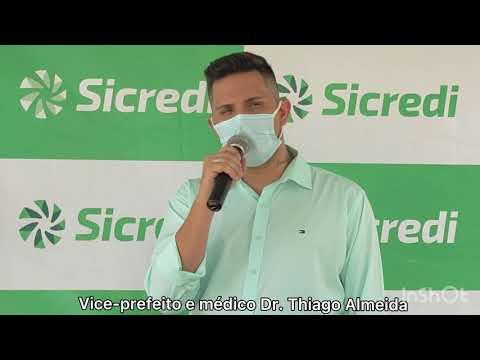 Thiago e Manoel acreditam que inauguração de agência Sicredi em Livramento irá desenvolver o comercio local