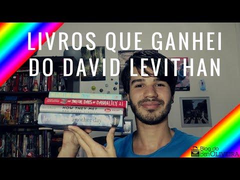 Livros que ganhei do David Levithan | Ben Oliveira