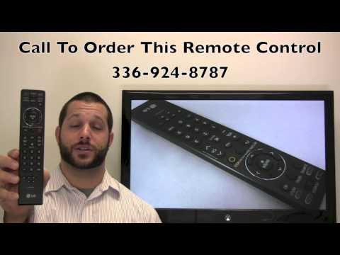 LG MKJ40653801 Remote Control