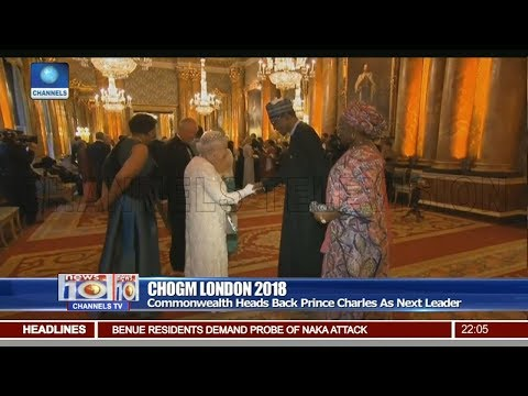 Commonwealth Heads Back prince Charles As Next Leader Pt.1 |News@10| 20/04/18
