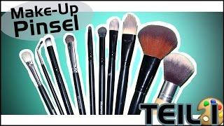 Make-Up Pinsel Guide - TEIL 1: Lidschatten Pinsel I Hannah Black