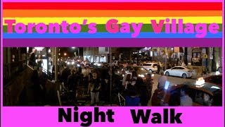 Night Walk 🌈  Toronto's Gay Village