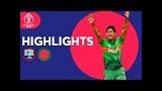 West Indies vs Bangladesh Highlights Icc World cup 2019 || Cricket 19