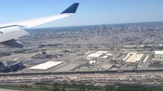 preview picture of video 'Final Approach+Landing at Philadelphia International Airport'