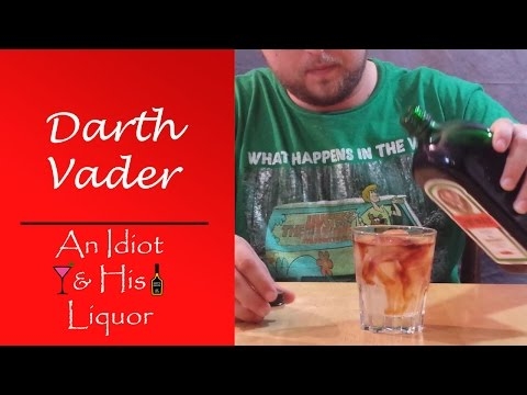 Darth Vader Mixed Drink Recipe – A Must Try Jagermeister Drink.