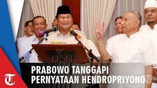 Prabowo Tanggapi Pernyataan Kontroversial AM Hendropriyono