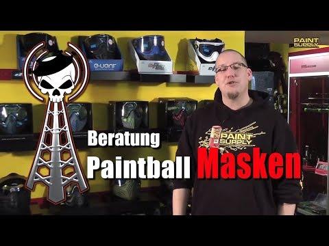 Beratung Paintball Masken - ein Überblick von PAINT SUPPLY