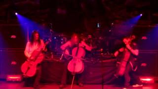 Apocalyptica - One (Metallica cover - Live in Montreal)