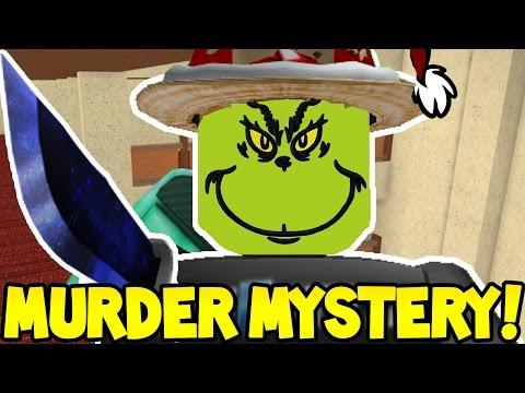 Roblox Murder Mystery Murderer Who Stole Christmas - roblox murder mystery a denisdaily clone