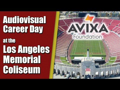 Audiovisual (AV) Career Day at the Los Angeles Memorial Coliseum ...