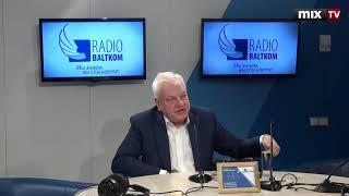 "Янис Шолкс в программе ""Утро на Балткоме"" #MIXTV"