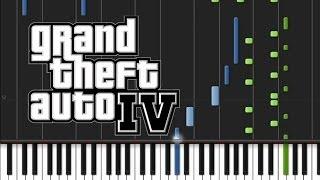 GTA 4 - Main Title Theme [Piano Tutorial] (♫)