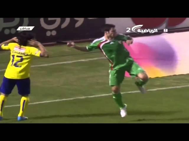 النصر (1 - 1) نجران دوري زين السعودي