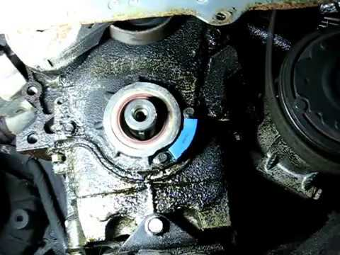 Diy How To Replace Front Oil Seal Of Ga16de Ga16dne border=