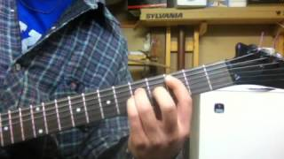 """How To Play - """"Caught In A Mosh"""" By Anthrax Guitar Lesson (Tabs)"""