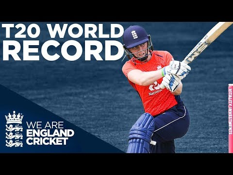 T20 WORLD RECORD Score!   England Women v South Africa T20 CLASSIC!   England v South Africa 2018