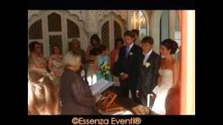 preview picture of video 'Essenza Eventi® Cerimonia Simbolica Anita & Gianfranco Parco Scherrer Morcote Svizzera'