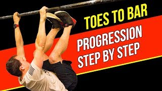 Toes To Bar Progression (Step by Step)