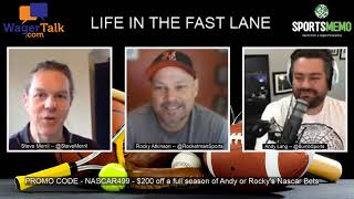 2020 Geico 500 Predictions And Picks | NASCAR Odds | Life In The Fast Lane