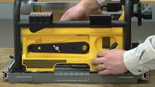 DeWALT Table Saw Repair - How to Replace the Rail Lock Lever