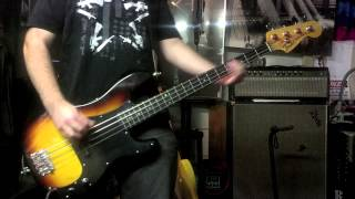 Anti-Flag-Spaz's House Destruction Party(Bass Cover)