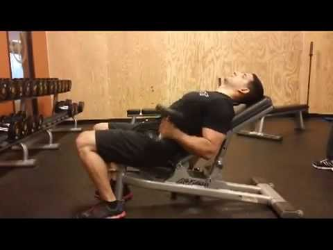 FITIOT EXERCISE Alternating Incline Hammer Curls