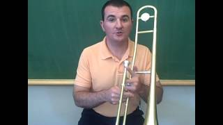 Trombone – Playing The First Five Notes