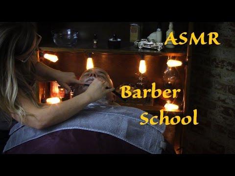 *ASMR* Barber School – Get Your Shave On