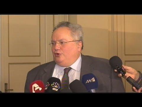 Ν. Κοτζιάς: Παραγωγική η συνάντηση με τον Μ. Νίμιτς για το ελληνικό Σύμφωνο