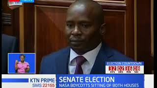 Tharaka-Nithi Senator elected as new deputy Speaker of the Senate