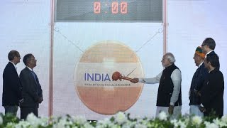 PM Modis Speech At The Inauguration Of First International Stock Exchange At Gift City Gandhinagar