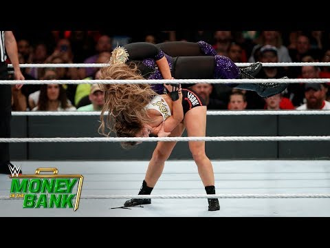 Download Rousey Takes Down Jax With An Incredible Judo Throw: Money In The Bank 2018 (WWE Network Exclusive) HD Mp4 3GP Video and MP3
