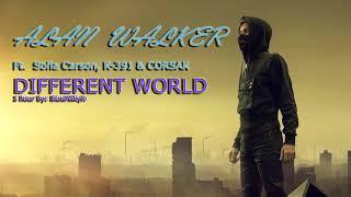 1 HOUR Alan Walker   Different World Feat. Sofia Carson, K 391 & CORSAK 1 HOUR!