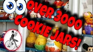 Worlds Largest Cookie Jar Collection/ Lets Have Some Fun In Metamora, Indiana!