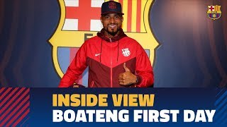 [BEHIND THE SCENES] Boateng