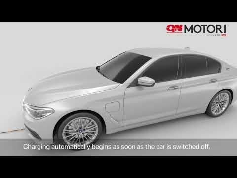 Ricarica wireless batterie auto su BMW 530e iPerformance