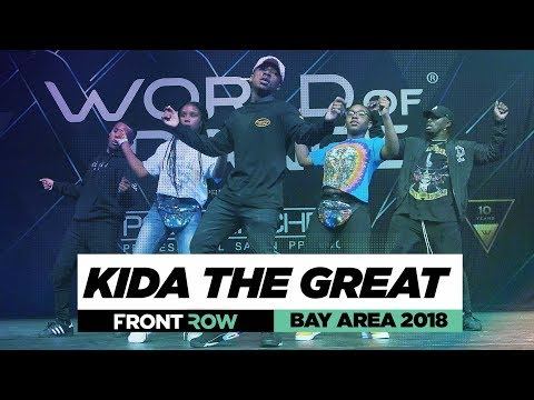 Download Kida The Great | FrontRow | World Of Dance Bay Area 2018 | #WODBAY18 HD Mp4 3GP Video and MP3