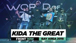 Kida The Great | FrontRow | World of Dance Bay Area 2018 | #WODBAY18