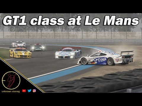 GT1 class racing at Le Mans w/ Nissan R390 GT1 / Project CARS 2