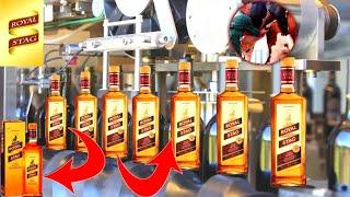 देखिये Indian बिस्की Royal Stag कैसे बनायीं जाती है | How to make Indian Whiskey Royal Stag.